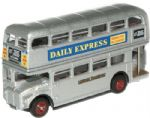 NRM010 Oxford Diecast 1/148 Scale RM664 Silver Lady Routemaster